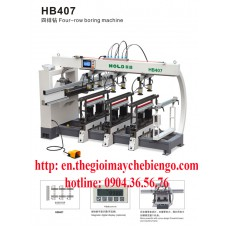Four row drill HB407
